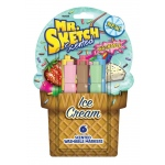 Mr. Sketch® 6-Color Scented Washable Marker Ice Cream; Color: Various; Ink Type: Water-Based; Refillable: No; Tip Type: Chisel Nib; Type: Scented Marker, Washable; (model SN1924258), price per set