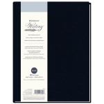 "Strathmore® Writing Series 8 1/2"" x 11"" Blank Hardbound Journal: Sewn Bound, Blue, Journal, 80 Sheets, 8 1/2"" x 11"", Writing, 24 lb, (model ST573-8), price per each"