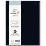 "Strathmore® Writing Series 5 1/2"" x 8 1/2"" Lined Hardbound Journal; Binding: Sewn Bound; Color: Blue; Format: Journal; Quantity: 80 Sheets; Size: 8 1/2"" x 11""; Type: Writing; Weight: 24 lb; (model ST573-81), price per each"