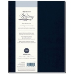 "Strathmore® Writing Series 7 3/4"" x 9 3/4"" Blank Softcover Journal; Binding: Sewn Bound; Color: Blue; Format: Journal; Quantity: 64 Sheets; Size: 7 3/4"" x 9 3/4""; Type: Writing; Weight: 24 lb; (model ST574-8), price per each"