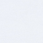 "My Colors Canvas 80 lb. Textured Cardstock Snowbound 12 x 12: White/Ivory, Sheet, 25 Sheets, 12"" x 12"", Canvas, 80 lb, (model T05101018), price per 25 Sheets"
