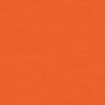 "My Colors Canvas 80 lb. Textured Cardstock Mandarin 12 x 12; Color: Orange; Format: Sheet; Quantity: 25 Sheets; Size: 12"" x 12""; Texture: Canvas; Weight: 80 lb; (model T053308), price per 25 Sheets"