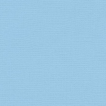 "My Colors Canvas 80 lb. Textured Cardstock Sky 12 x 12; Color: Blue; Format: Sheet; Quantity: 25 Sheets; Size: 12"" x 12""; Texture: Canvas; Weight: 80 lb; (model T057727), price per 25 Sheets"