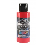 Wicked Colors™ Airbrush Paint 16oz Standard Red: Red/Pink, Bottle, 16 oz, Airbrush, (model W005-16), price per each