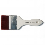 Natural Pigments Synthetic Mottler Brush 3-inch - Brush Style: Flat, Mottler; Ferrule: Stainless steel