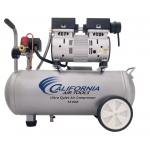 California Air Tools 5510SE Air Compressor: 1.0 HP, 5.5 Gal. Steel Tank, Ultra Quiet, Oil-Free, Lightweight