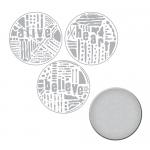 Spellbinders - Seth Apter - Word Circles 2 Stamp & Die