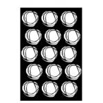 Ranger - Dina Wakley Media - Stencils - Fractured Circles