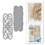 Spellbinders - Stacey Caron - Shapeabilities - Floral Swirls Strip Die