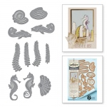 Spellbinders - Stacey Caron - Shapeabilities - Nouveau Sea Life Die