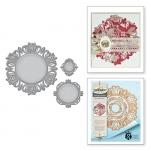 Spellbinders - Stacey Caron - Shapeabilities - Stile Floreal Medallion Die