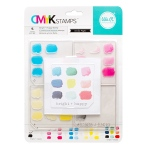 We R Memory Keepers - CMYK - Stamp Kit - Bright + Happy