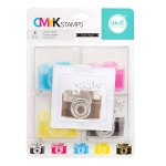 We R Memory Keepers - CMYK - Stamp Kit - Camera