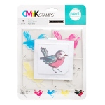 We R Memory Keepers - CMYK - Stamp Kit - Bird