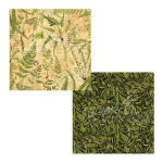 Graphic 45 - Nature Sketchbook - Verdant Woodlands 12x12 Paper