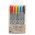 Ranger - Tim Holtz - Distress - Crayons Set #7