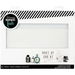 American Crafts - Heidi Swapp - Lightbox 10inX13inX2in - White