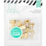 American Crafts - Heidi Swapp - Memory Planner - Binder Clips 12 Pack