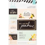 American Crafts - Heidi Swapp - Memory Planner - Calendar Stickers 2/Sheets -