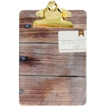 American Crafts - Mini Clipboard - Woodgrain
