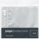 American Crafts - Page Protectors Top - Loading 6x6 10 Pack (1) 6x6 Pocket