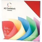 American Crafts - Textured Cardstock Pack - 12x12 60 Pack - Primaries