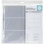 We R Memory Keepers - RingPhoto Sleeves 12x12 - 10 Pack (6) 4x6 Pockets