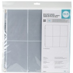 We R Memory Keepers - RingPhoto Sleeves 12x12 - 10 Pack (6) 6inX4in Pockets