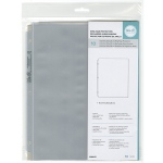 We R Memory Keepers - RingPhoto Sleeves 8.5x11 10 Pack Full Page