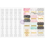 Prima - Love - Faith - Scrap Planner - Divider Tabs 12 Pack with Word Labels