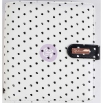 Prima - My Prima - A5 Planner - Breathe - White with Black Dots
