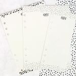 Prima - My Prima Planner - Dry Erase Board Inserts 3 Pack Black & White
