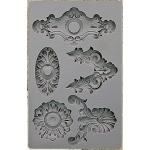 Prima - Iron Orchid Designs - Vintage Art Decor Mould - 5inX8in - Escucheons #2