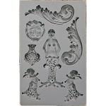 Prima - Iron Orchid Designs - Vintage Art Decor Mould - 5inX8in - Nautica #2
