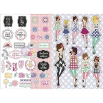Prima - Julie Nutting Planner -  Monthly Stickers - 2 Pack - May