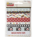Simple Stories - Say Cheese II - Washi Paper Tape 3x4 Sheets 24 Pack Designer