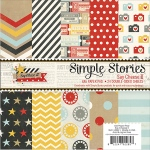 Simple Stories - Double Sided Paper Pad - 6x6 24 Pack Say Cheese II - 12 Designs/2 Each