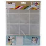 Simple Stories - Sn@p! Insta Pocket Pages For 6inX8in Binders 10 Pack (12) 2inX2in Pockets