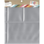 Simple Stories - Sn@p! Pocket Pages For 6inX8in Binders 10 Pack (1) 4x6 & (2) 3x4 Pockets