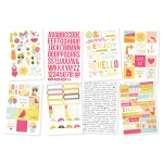 Simple Stories - Sunshine & Happiness - Stickers 4x6 Sheets 8 Pack