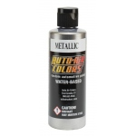 Auto-Air Colors™ Metallic Pewter 4oz: Metallic, Water-Based, 4 oz, Airbrush, (model 4345-04), price per each