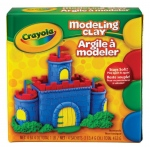 Crayola® ASSORTED MODELING CLAY 1 LB, (model 57-0300-1), price per each