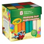 Crayola® BOLD ASST JUMBO MODEL CLAY 2LB, (model 57-0315), price per each