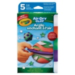 Crayola® BRIGHT ASSORT. AIR DRY CLAY, (model 57-2001), price per pack
