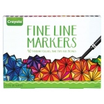Crayola® FINE LINE MARKERS - 40 PK, (model 58-7715), price per pack