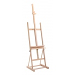 Cappelletto Studio Easel with Utility Shelf: Wood, Artist, (model CCS100), price per each