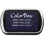 "ColorBox® Full Size Ink Pad Enchanted: Purple, Pad, Pigment, 2 1/2""l x 4""w x 1/4""h, (model CS15231), price per each"