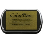 "ColorBox® Full Size Ink Pad Chamomile: Yellow, Pad, Pigment, 2 1/2""l x 4""w x 1/4""h, (model CS15232), price per each"