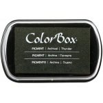 "ColorBox® Full Size Ink Pad Thunder: Black/Gray, Pad, Pigment, 2 1/2""l x 4""w x 1/4""h, (model CS15233), price per each"
