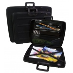 "Prestige™ Rugged Pro Portfolio 23"" x 31"": Black/Gray, 1 1/2"", Vinyl, 23"" x 31"", (model EVA2331), price per each"